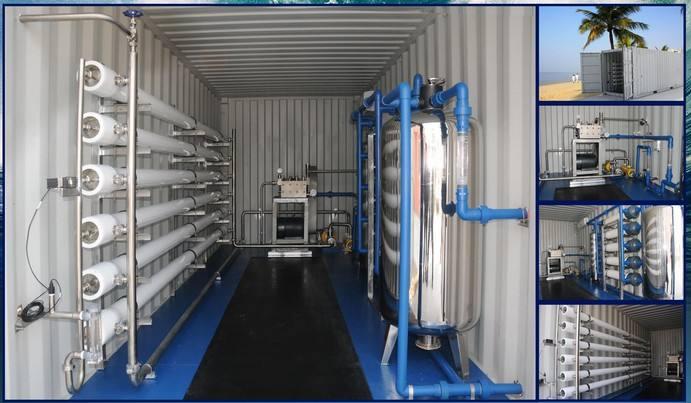 集裝箱一體化反滲透設備